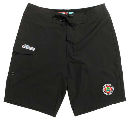 1a04787597 Unisex Board shorts, Navy, Palm Beach Fire Rescue