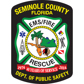 Seminole County EMS Fire Rescue Patch